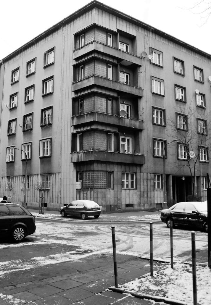 Kraków. Sereno Fenn'a 6, kamienica Aleksandrowiczów. Projekt Alfred Düntuch, Stefan Landsberger. Fot. Jerzy S. Majewski