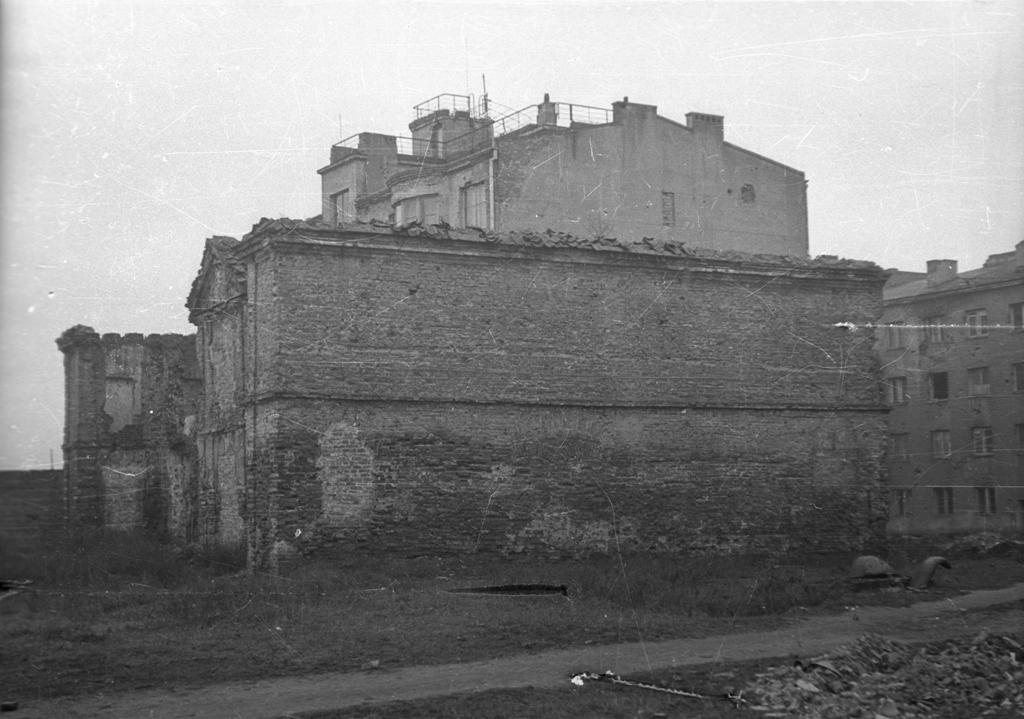 Warszawa. Pałacyk Simona de Szymonowicza na Solcu. Fot. Karol Pęcherski. Zbiory Muzeum Powstania Warszawskiego