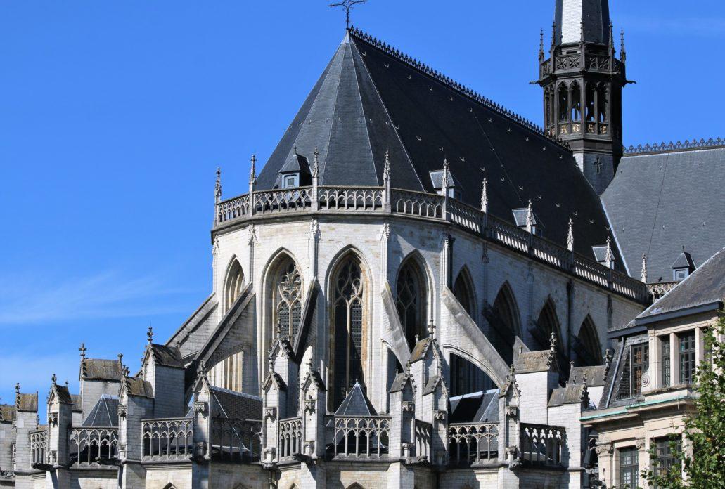 Leuven. Prezbiterium st. Pieterskerk. Fot. Jerzy S. Majewski