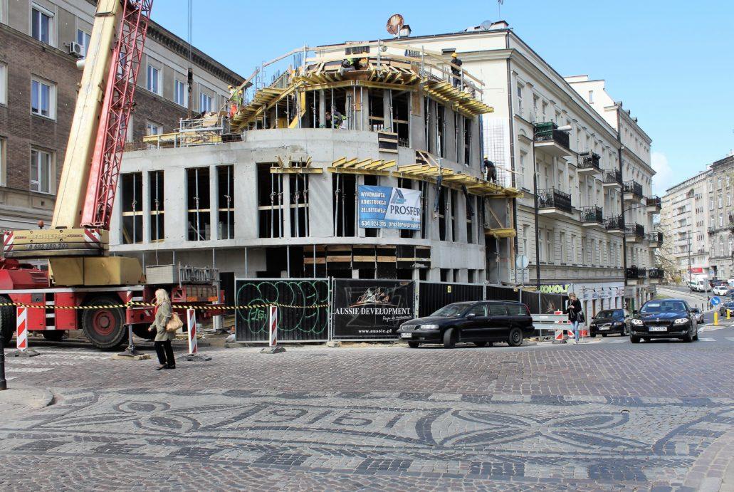 Warszawa Piękna 49 Biurowiec O Krzywej ścianie Miasta Rytm