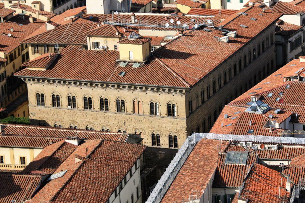 Florencja. Palazzo Medici. Początek budowy 1444 r. Fot. Jerzy S. Majewski