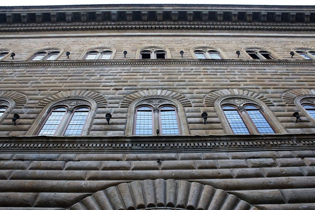 Florencja. Fragment elewacji Palazzo Strozzi. Fot. Jerzy S. Majewski