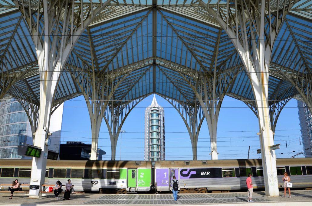 Lizbona. Wiata nad peronem Lisboa Oriente. Projekt Santiago Calatra. Fot. Jarosław Osowski