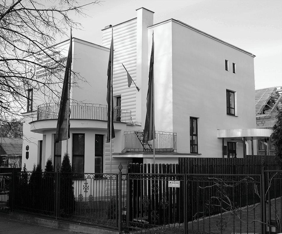 Brześć nad Bugiem, odremontowana modernistyczna willa pudełko przy dawnej ul. Pułaskiego 17 (dziś Lewanewskiego). Fot. Jerzy S. Majewski