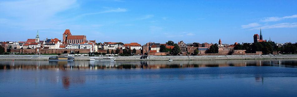 Panorama Torunia od strony Wisły. Fot. Jerzy S. Majewski