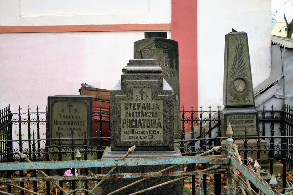 Mińsk Białoruski. Cmentarz na Kalwarii. Fot. Jerzy S. Majewski
