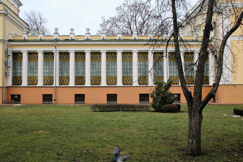 Homel. Jedna z galerii pałacowych. Fot. Jerzy S. Majewski