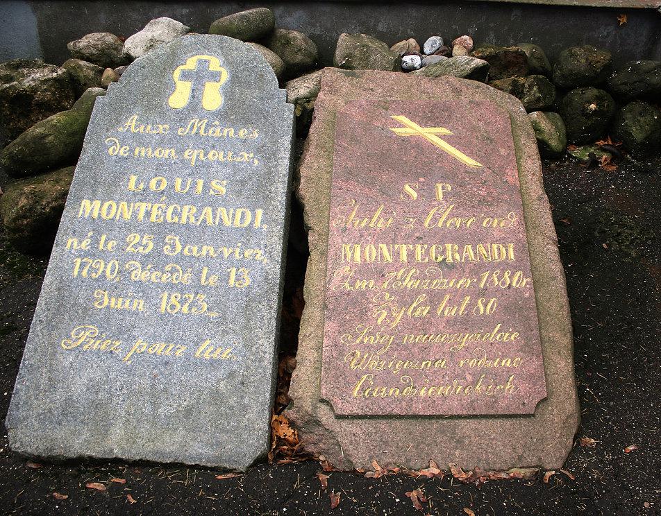Mińsk Białoruski. Cmentarz na Kalwarii. Grobowce rodziny Montegrandi. Fot. Jerzy S. Majewski