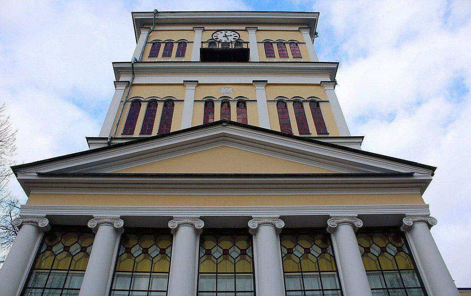 Homel. Fragment wieży pałacowej. Fot. Jerzy S. Majewski