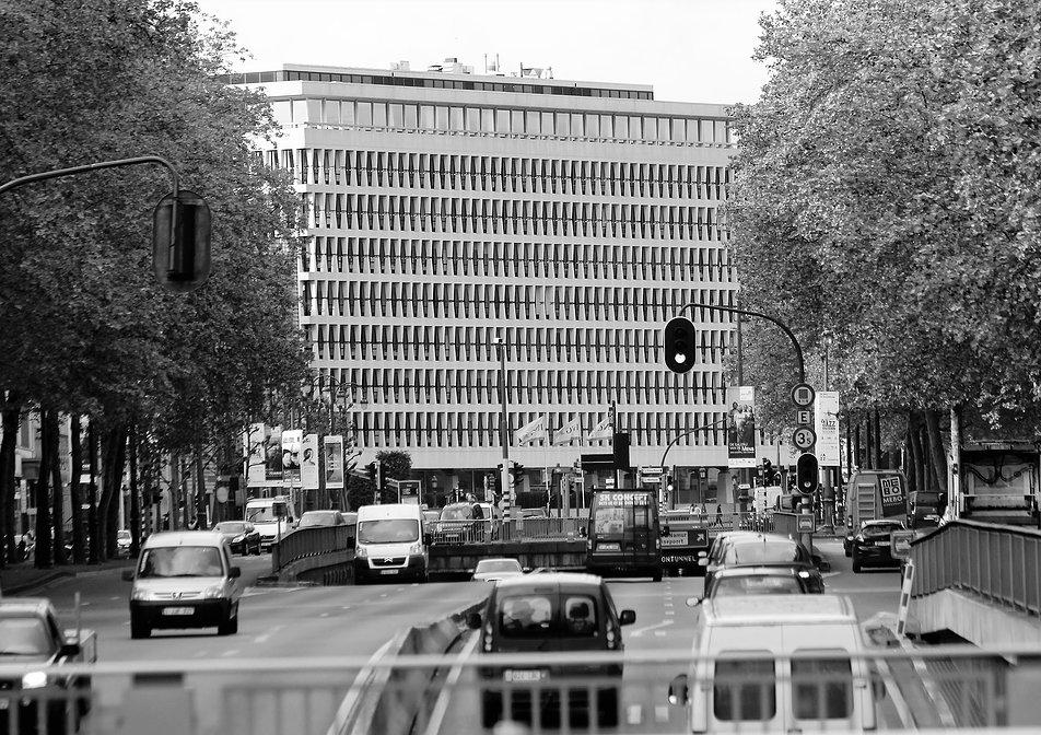 Bruksela. Bank Lambert. Fot. Jerzy S. Majewski