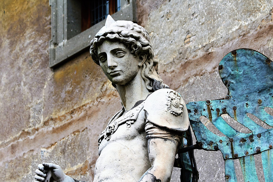 Renesansowa figura Anioła autorstwa Rafaello da Montelupo. Fot. Jerzy S. Majewski
