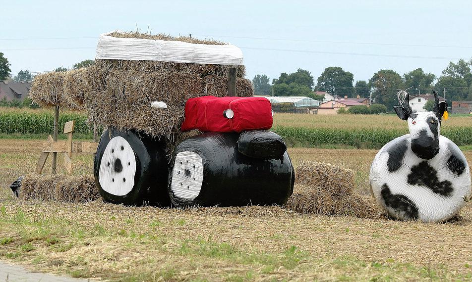 Sierakowo. Traktor. Fot. Jerzy S. Majewski