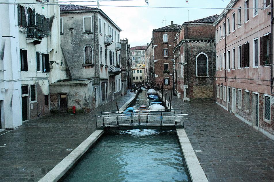 Wenecja. Mostek nad Rio della Crea. Fot. Jerzy S. Majewski