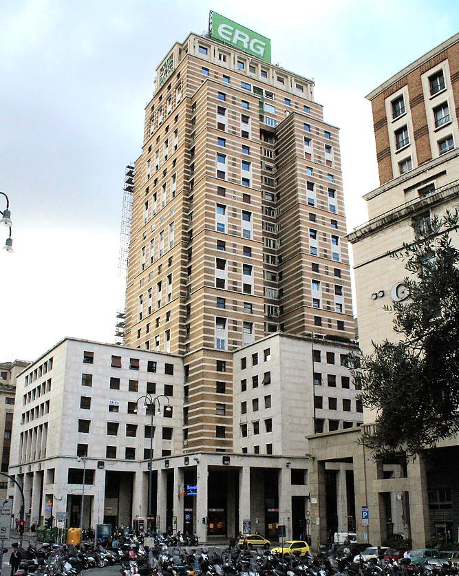Genua. Torre Piacentini przy Piazza Dante. Fot. Jerzy S. Majewski