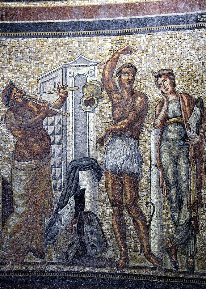 Genua. Torre Piacentini. Mozaika we wnętrzu budynku. Fot. Jerzy S. Majewski