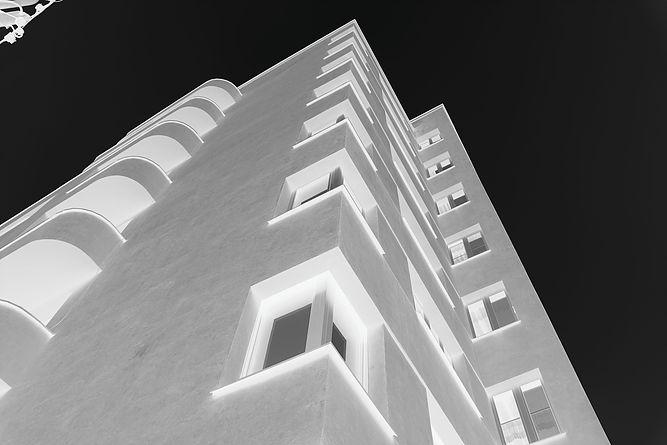 Katowice. Fragment domu mieszkalnego przy ul. Wojewódzkiej 23. Fot. Jerzy S. Majewski