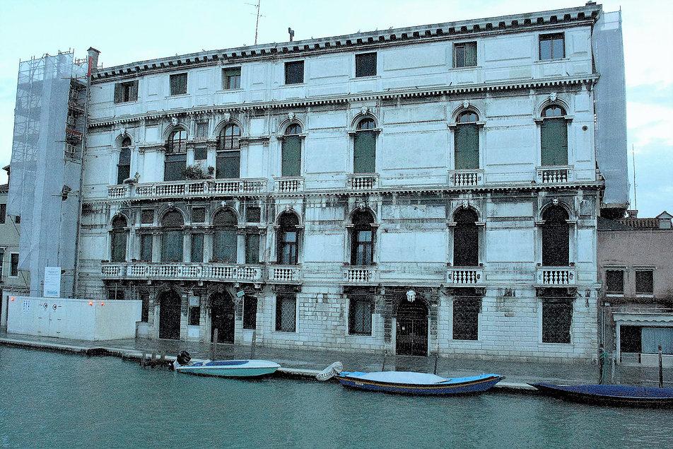 Wenecja. Palazzo Surian Belotto przy Fondamenta di Cannaregio. Fot. Jerzy S. Majewski