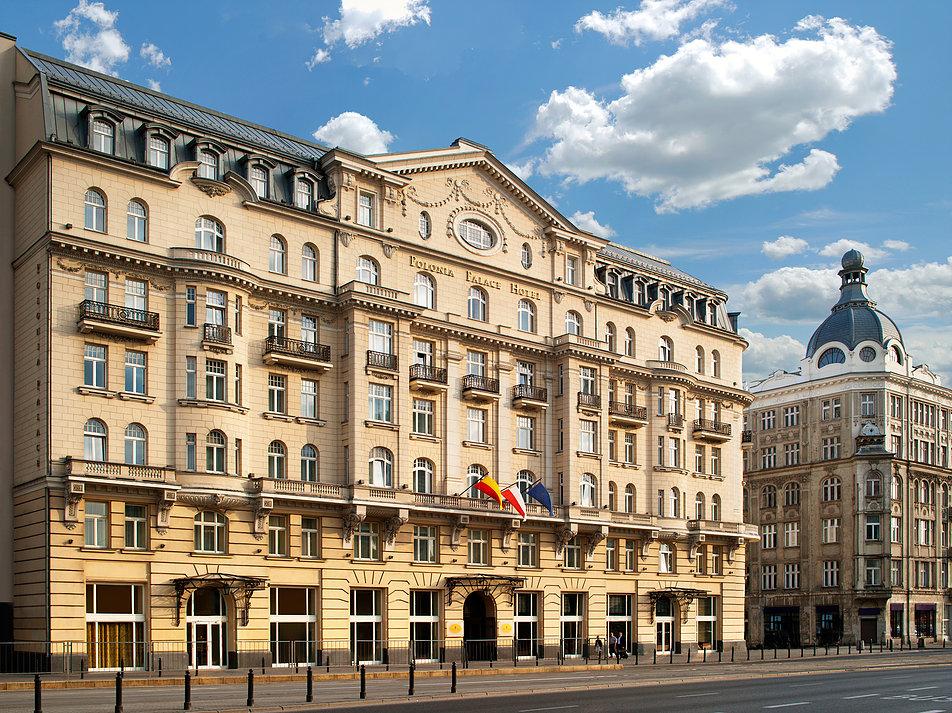 Warszawa. Współczesny widok hotelu Polonia Palace. Zdjęcie udostępnione dzięki życzliwości hotelu